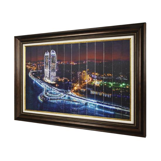 Xiamen twin towers building printing